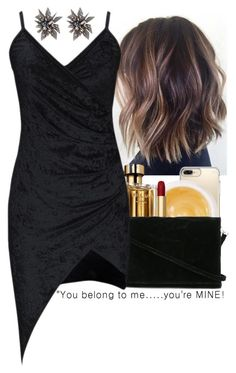 """""""I love this dress"""" by liveitup-167 ❤ liked on Polyvore featuring Speck, Pommade Divine, Prada, Zilla and Alexis Bittar"""