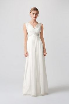 Stunning collection of cheap grecian wedding dresses and cheap empire line wedding dress. Affordable Grecian wedding dresses and empire line wedding dresses for brides on a budget. Affordable Grecian wedding dresses, affordable empire line wedding dresse Monsoon Wedding Dresses, Wedding Dresses London, Informal Wedding Dresses, Sexy Wedding Dresses, Bridal Dresses, Wedding Gowns, High Street Bridesmaid Dresses, Bridesmaid Dresses Uk, Grace Loves Lace