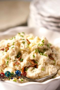 Bacon Mashed Potatoes at Reluctant Entertainer