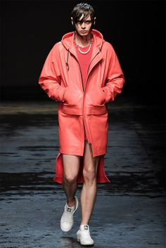 Really? What man is gonna wear this? Other than the poor model who is being paid...