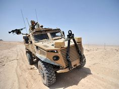 Foxhound vehicle by Think Defence, via Flickr