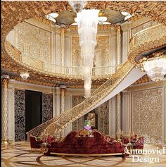 Luxury Homes Mansions & High End Real Estate für . Luxury Home Decor, Luxury Interior Design, Luxury Homes, Interior Architecture, Luxury Chandelier, Chandelier In Living Room, Luxury Lighting, Chandeliers, Mansion Interior