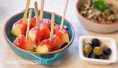 Meloen met serranoham