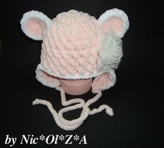 Newborn Baby Girl Cute Crochet Very Warm от CrochetCafeNicOlZA