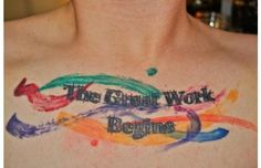 28 Gorgeous Tattoos All Book-Lovers Must See (Angels in America tattoo!)