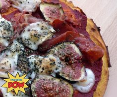 A Fig, Goats Cheese, & Proscuitto Sweet Potato Pizza › Protein Pow