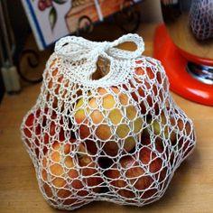 Weightless Produce Bag - Free Pattern