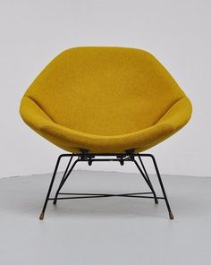 Augusto Bozzi; Lounge Chair for Saporiti, 1956.