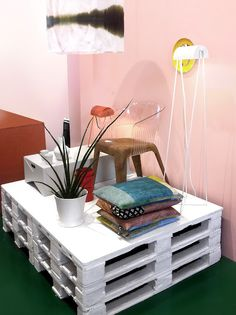 Stacks of books or cushion it for nap lounge  Store Without a Home, international and independent design boutique.
