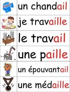 Les sons français en images - French phonics illustrated w French Language Lessons, French Language Learning, French Lessons, Spanish Lessons, Spanish Class, Spanish Language, Learning Spanish, French Teaching Resources, Teaching French