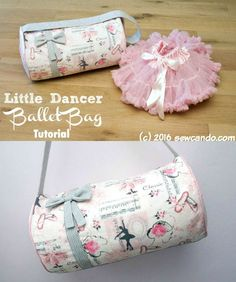 free ballet bag sewing tutorial for kids