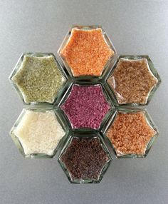 Infused sea salts, GRILLING salts, spice rack, organic salts, finishing salts, wine salt, gourmet salts, flavored salts, SHIPPING INCLUDED