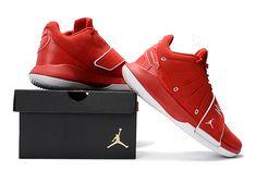 "cbc593a9f33e Jordan CP3.XI ""Houston Rockets"" Varsity Red White Men s Basketball Shoes"
