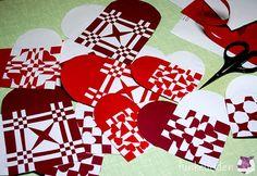 DIY – Dänische Weihnachtsherzen weben                                                                                                                                                      Mehr
