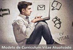 Modelo de Curriculum Vitae Atualizado   Modelos de Curriculos