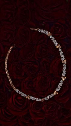 AZVA The Rose showstopper with diamond petals Gold Bangles Design, Gold Jewellery Design, Gold Jewelry, India Jewelry, Jewelry Design Earrings, Gold Earrings Designs, Necklace Designs, Fancy Jewellery, Stylish Jewelry