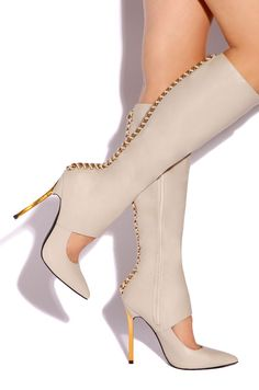 Lola Shoetique - Lethal Obsession - Stone, $148.00 (http://www.lolashoetique.com/lethal-obsession-stone/)