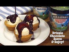 Cookie Cup Sundaes   Ben & Jerry's