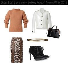 """""""burberry prorsum 2013"""" by only-vintage on Polyvore"""