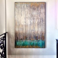 """Melissa Key Abstract """"Unspoken"""""""
