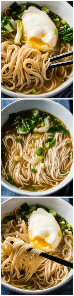 Easy Soy Sauce Noodles - The most basic and comforting noodles that can be prepped and cooked within 10 minutes.