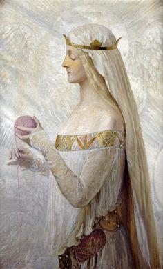 Fair Rosamond Clifford, by Herbert Sidney Ancient History, Art History, Art Blanc, Art Et Illustration, Pre Raphaelite, Wow Art, Classical Art, Classical Education, Chalkboard Art