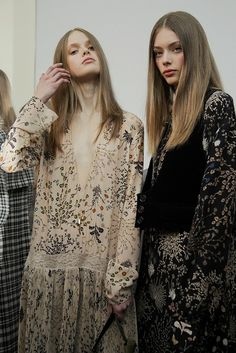#Backstage at #Chloé AW15 Photography #VirginiaArcaro