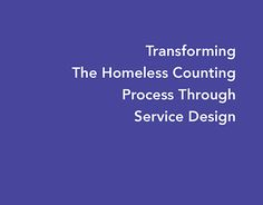 "Check out new work on my @Behance portfolio: ""The Homeless Counting Process Through Service Design"" http://be.net/gallery/48249917/The-Homeless-Counting-Process-Through-Service-Design"