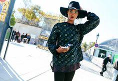 Paris Fashion Week Street Style Spring 2016 - #PFW #SS16