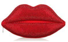 DIY Lulu Guinness Look-Alike Embellished Lips Clutch, Let's Get Crafty!