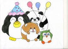 Squishable party time!!! By fan Devon F. #plush