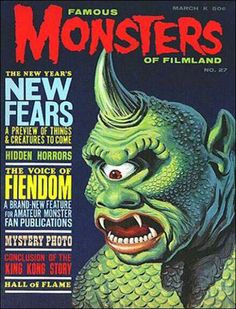 Famous Monsters of Filmland - issue #27 - 1964 - 7th Voyage of Sinbad