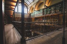 Do not miss the stunning Cuypers Library at the Rijksmuseum.