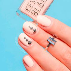 Wedding Nail Designs for Your Perfect Bridal Look ★ See more: https://naildesignsjournal.com/perfect-wedding-nail-designs/ #nails