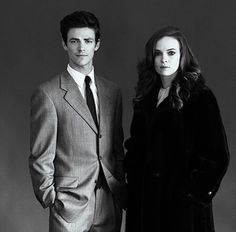 Grant Gustin And Danielle Panabaker Tyler Shields Photoshoot