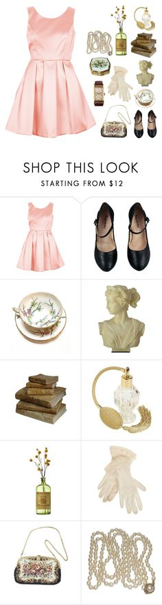 """""""D I A N A"""" by aby-ocampo ❤ liked on Polyvore featuring Topshop, Repetto, Retrò and Patek Philippe"""