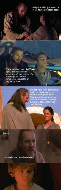 The Problem of the Jedi. lame but super cute