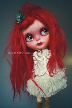 G.Baby OOAK Custom Blythe doll Saffron by bebebentley on Etsy