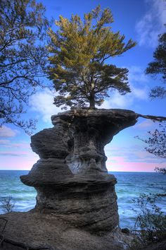 Chapel Rock, Pictured Rocks National Lakeshore, MI