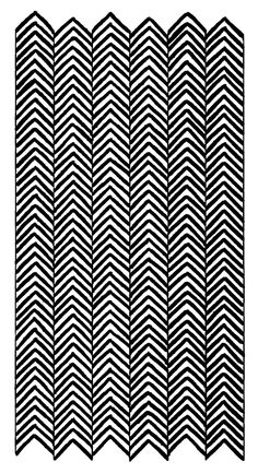 hand drawn herringbone.