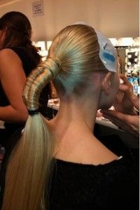 exotic ponytail