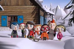 'My Life as a Zucchini' is a #stop_motion #Swiss movie about an orphaned boy who goes by the name #Courgette, French for #zucchini. PHOTO: #GKIDS
