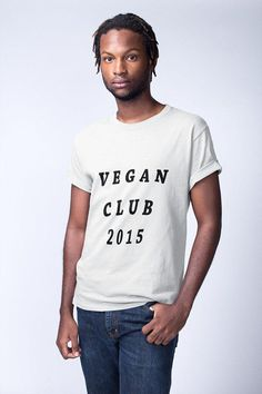 Been vegan since Get this funny vegan shirt to wear. Click the photo to view more vegan tees. Vegan Fashion, Ethical Fashion, Vegan Humor, Vegan Shopping, Vegan Clothing, Vegan Gifts, Vegan Shoes, Vegan Lifestyle, Shirts