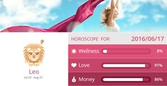 Leo Wellness, Love and Money predictions for 2016/06/17. PIN/LIKE if accurate. #leo, #horoscope, #horoscopes, #astrology