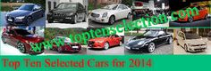 Top Ten Cars of the year