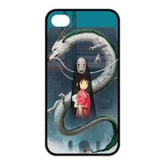 Japanese Anime Spirited Away Case for Iphone 4 4s Design 001