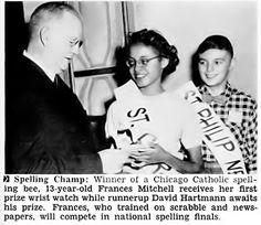Frances Mitchell Wins Chicago Catholic Spelling Bee - Jet Magazine Dec 2, 1954 | Flickr - Photo Sharing!