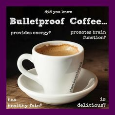 Can Coffee Really Improve Your Health? Meet Bulletproof. http://stupideasypaleo.com/2013/10/21/can-coffee-really-improve-health-meet-bulletproof-2/ #paleo #coffee #healthyfat