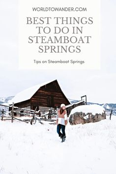 Best things to do in Steamboat in Winter - World to Wander Steamboat Springs Restaurants, Colorado Resorts, Best Mexican Restaurants, Winter Vacations, Things To Do, Good Things, Ski Season, Steamboats, Cross Country Skiing