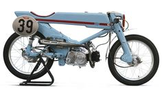 This Is What Happens When You Turn A Honda Super Cub Into A Badass Racer